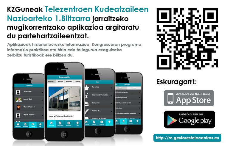 App Telezentroetako Kudeatzaileen Nazioarteko I. Batzarra