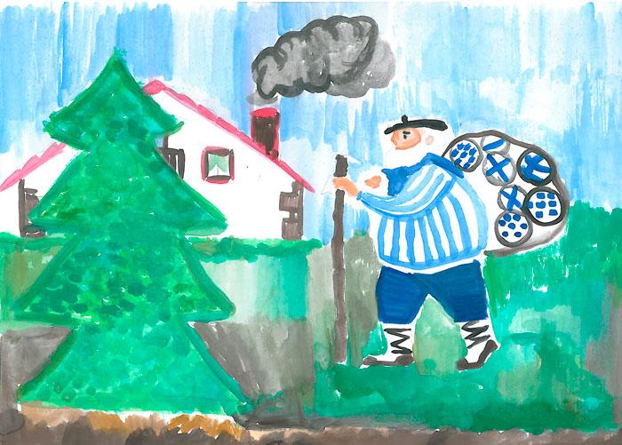 Dibujos De Navidad Del Olentzero.Navidades Tecnologicas En Kzgunea Kzblog