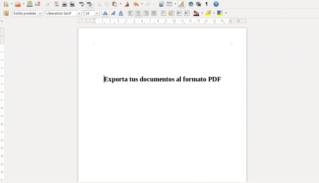 convert pdf to libreoffice writer online