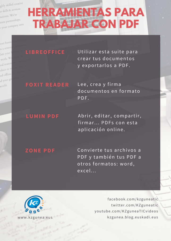 Herramientas Para Trabajar Con Documentos En Formato Pdf Kzblog