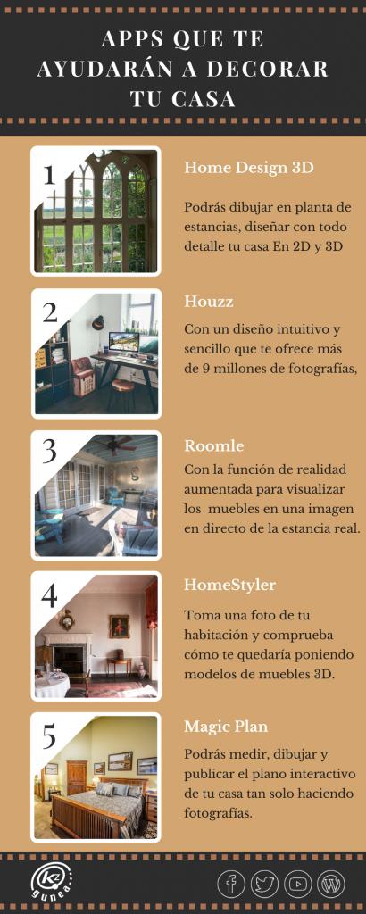 Apps que te ayudarán a decorar tu casa