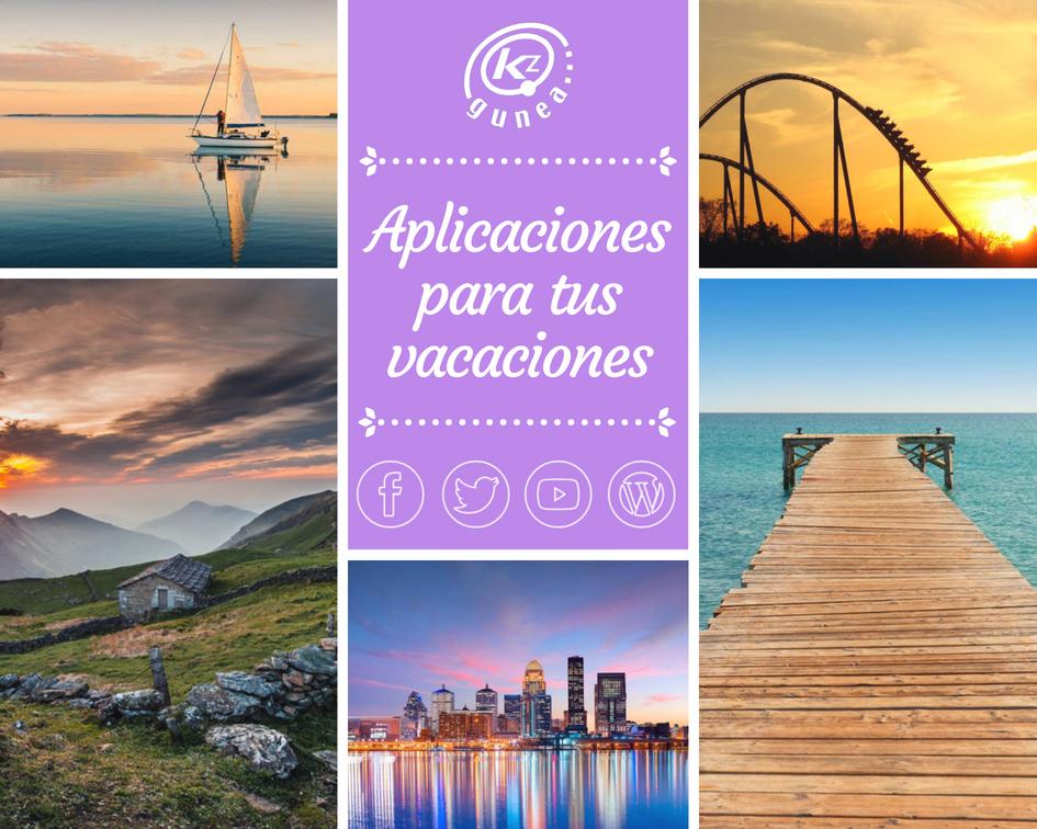 Aplicaciones para tus vacaciones