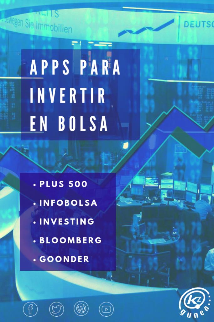 Apps para invertir en bolsa