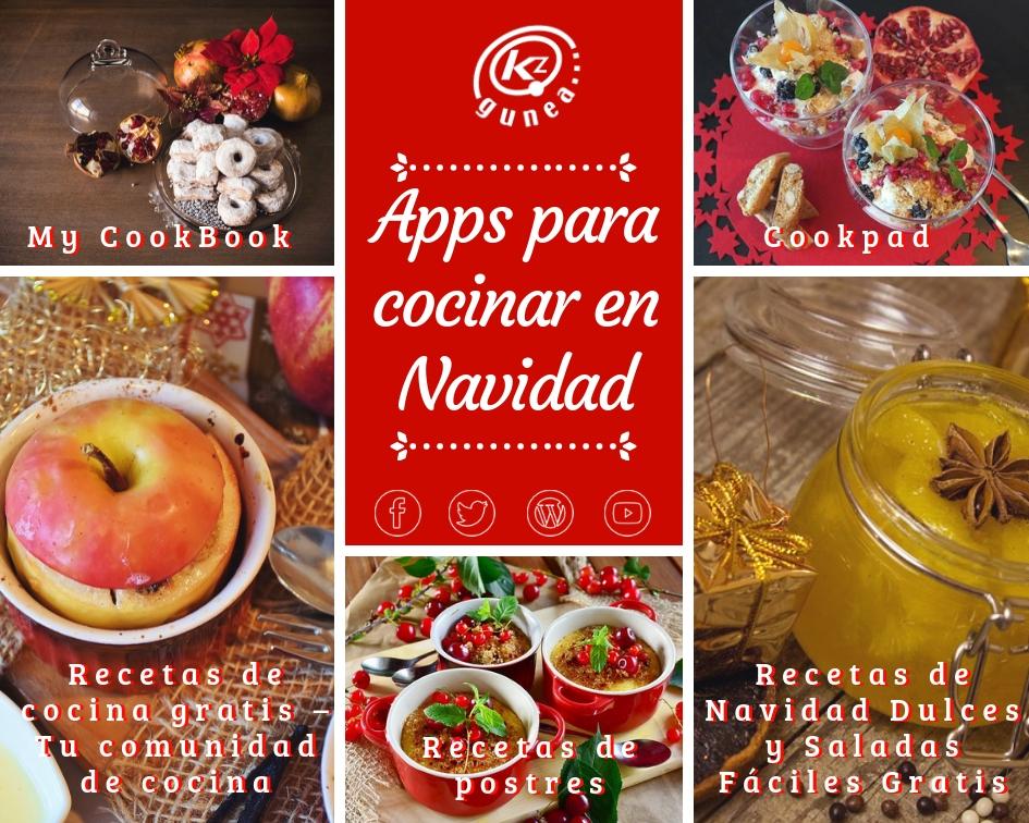 Apps para cocinar en Navidad