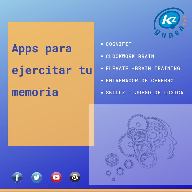 Apps para ejercitar tu memoria