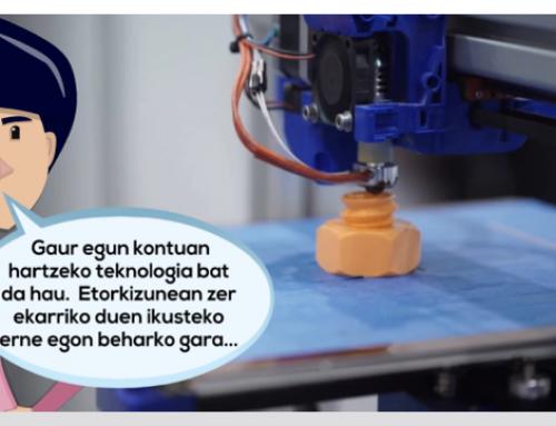Kontxik  3D  inprimatzeak  ezagutzen  du