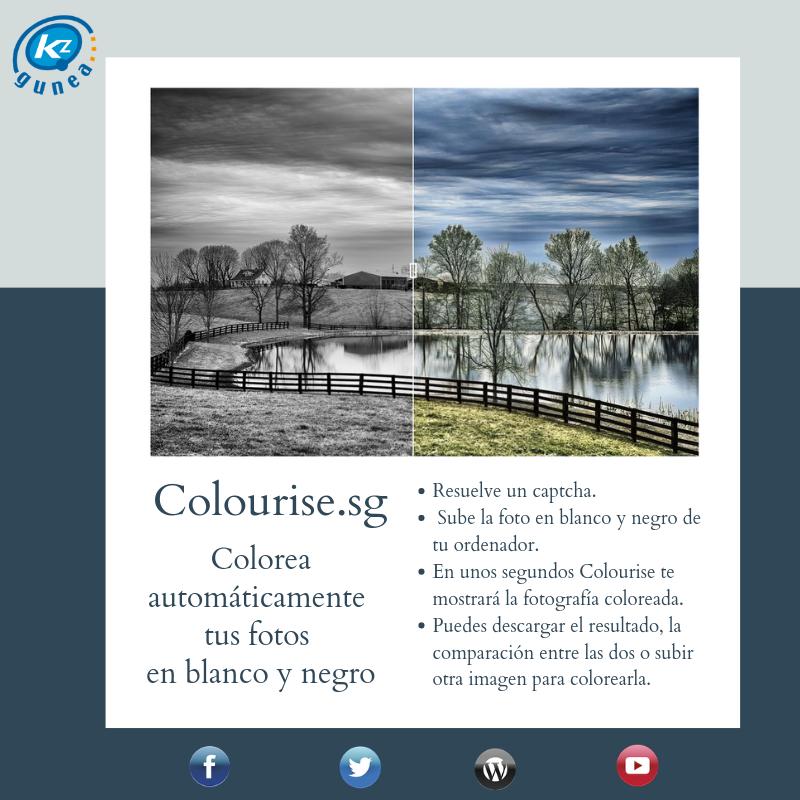 Colourise.sg: colorea automáticamente tus fotos en blanco y negro