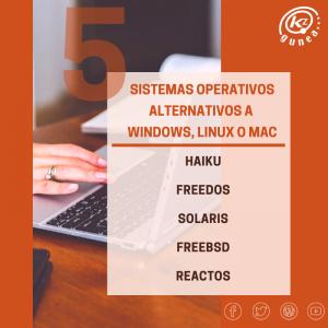 5 sistemas operativos alternativos a Windows, Linux o Mac