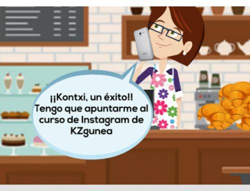 Kontxi usa Historias de Instagram