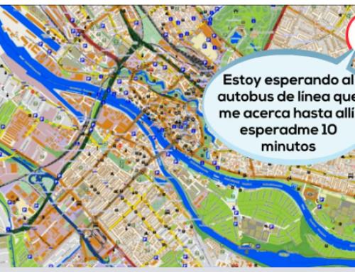 Kontxi usa las apps de transporte público