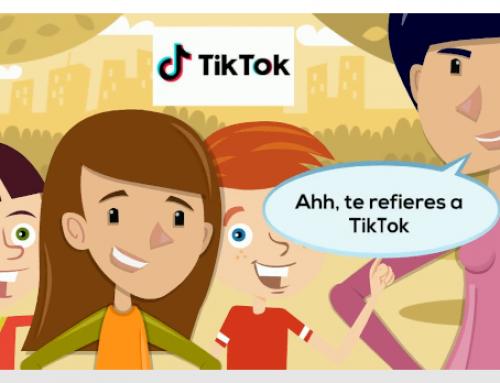 Kontxi conoce TikTok
