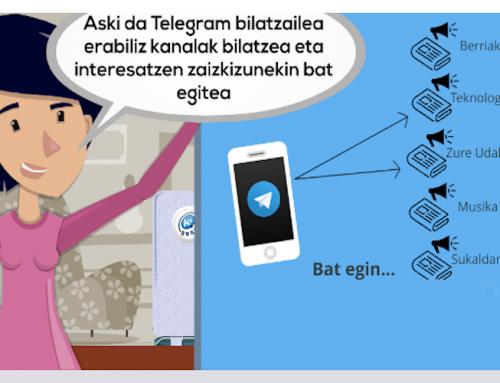 Kontxik  Telegram-eko  kanalak  ezagutzen  ditu