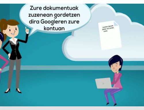 KontxiK Googleko dokumentuak ezagutzen du